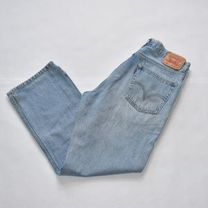 Levi Strauss Mid Wash 505 Regular Fit Jean.